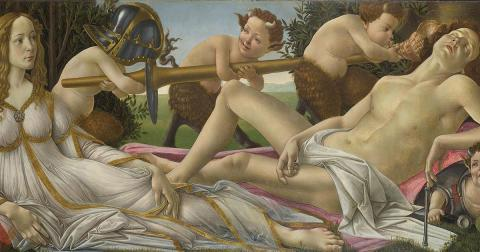 Venus and Mars, c. 1485 (Public Domain)